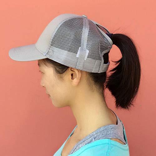 Wensistar Summer Mesh Ademend Quick Drying Sun Hats, Aprire de baseball-cap buiten @ grijs, jongen van Hip Hop