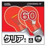 クリア電球60W形2PLC100V57W2PA