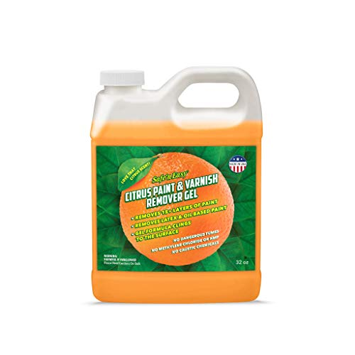 Safe 'n Easy Citrus Paint & Varnish Remover Gel, Strips...