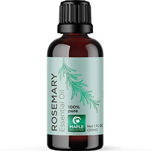 Rosemary Essential Oils Therapeutic Grade - Pure Rosemary Oil for Hair Skin and...