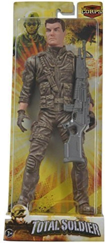 gran venta The Corps Total Soldier Soldier Soldier Capt'n Outback 10 Acción Figura by Lanard  barato