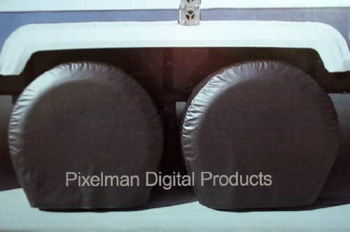 Pair Storage Vinyl Raleigh Mall Tire Covers 18