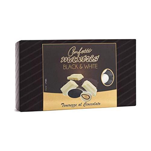 Confetti Maxtris Tenerezze al Cioccolato Black & White 1 kg