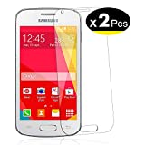NEW'C Verre Trempé pour Samsung Galaxy ACE4,[Pack de 2] Film Protection écran - Anti Rayures - sans Bulles d'air -Ultra...