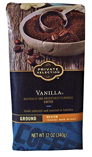 Private Selection Ground Coffee Various Flavors and Sizes (Vanilla, 12 oz.)