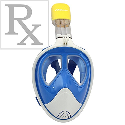 Promate Prescription full face snorkel mask
