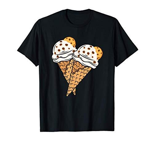 Masa de galletas con trozos de helado y chocolate Camiseta