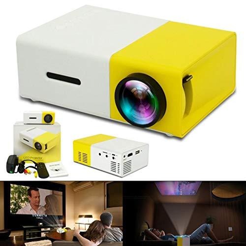 Smartlife 10W-24W YG300 Universal 60 Inch HD con Pilas Mini Proyector Portátil De Bolsillo LED para Hogar Y Entretenimiento