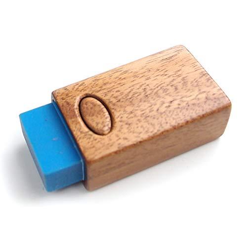 【木製雑貨LIFE】 RESARE消しゴムケース・カバー・スリーブ(HOLD加工) RESARE消しゴム付き 型番105040 【国内正規品】 こげ茶