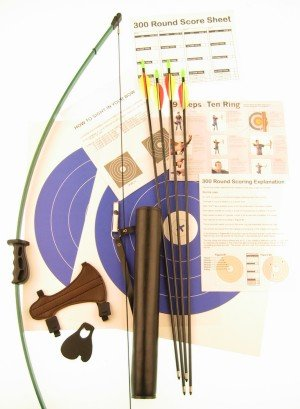 Ages 6-12 Deluxe Beginner Archery Package