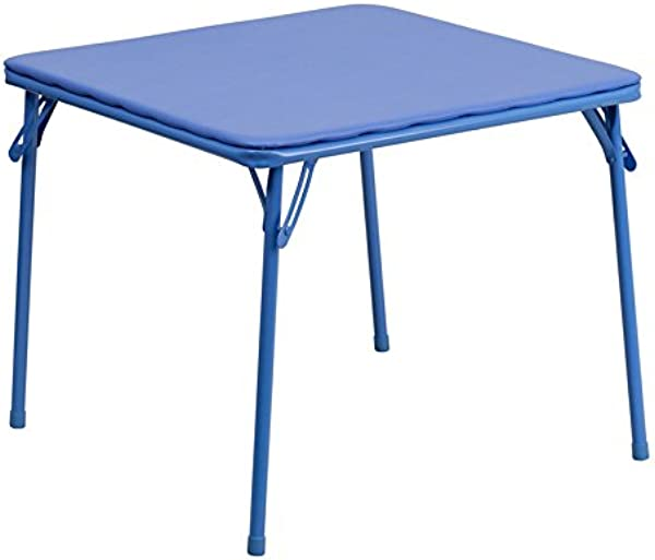 Emma Oliver Kids Blue Folding Table Daycare Classroom