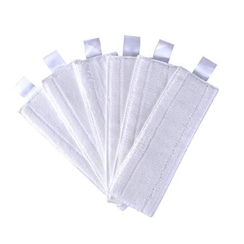 JZROME Lot de 6 Bonnettes Microfiber Lingettes Remplacement pour Karcher Easy Fix SC2, SC3, SC4, SC5