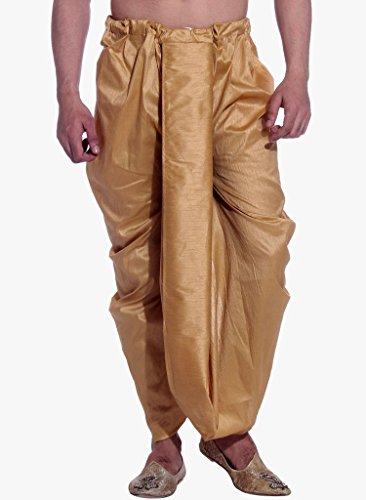 Royal Kurta - Pantaloni da uomo in seta di alta qualità, pronti da indossare