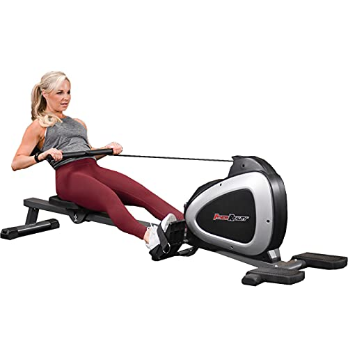 FITNESS REALITY 1000 PLUS Bluetooth Magnetic Rower Rowing Machine