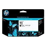 HP 72 Tintenpatrone schwarz matt (130 ml) mit HP Vivera Tinte