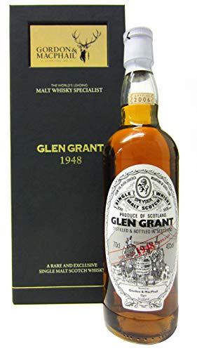 Glen Grant - Speyside Single Malt Scotch - 1948 58 year old Whisky