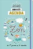 Mon petit agenda zen : Du 1er janvier au 31 décembre