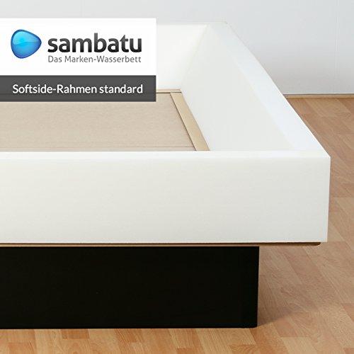 sambatu Schaumrahmen Schaumkeil für Softside Wasserbett Standard 4-teilig (200x200)