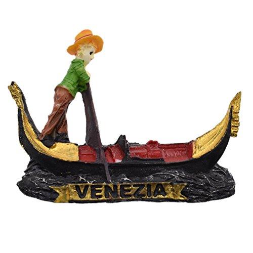 Kesheng Imán para Nevera Venecia Italia Recuerdo de Viaje Turístico para Decoración del Hogar