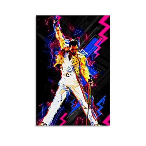 Poster Freddie Mercury Marca NENBN