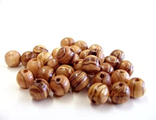 Olive Wood Round Beads 7mm (100 beads)