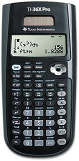 Texas Instruments TI-36X PRO Scientific Calculator, Solar Powered