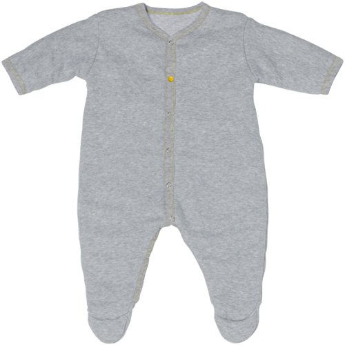 RED CASTLE Surpyjama Soft&Casual, T2-6M Gris Chine / Jaune