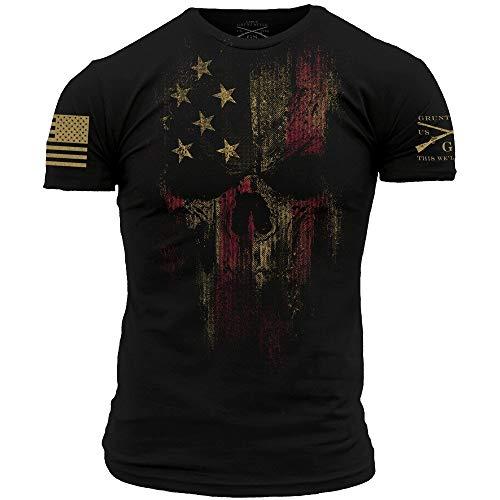 Grunt Style American Reaper 2.0 Men's T-Shirt, Color Black, Size Medium
