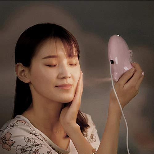 Neue Fahsion Led Schönheit Spiegel Licht Ion Nano Luftbefeuchter Wasserzähler Dampf Maschine Frauen Led Spiegel Nachtlichter