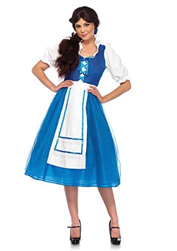 Leg Avenue Women s Costume, Blue White, Large