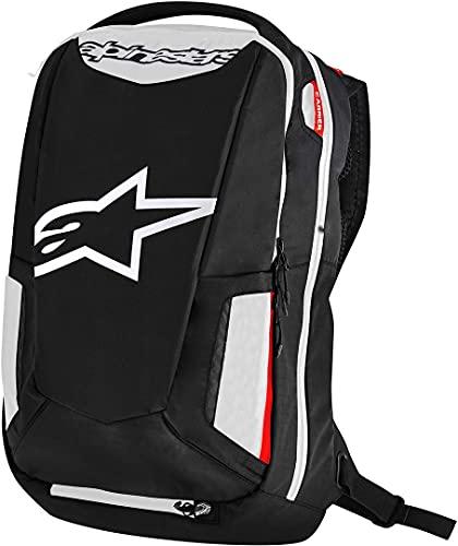 Alpinestars 2801-1259 Zaino Moto City Cacciatore Scarpa per Unisex/Adulti, Nero/Bianco