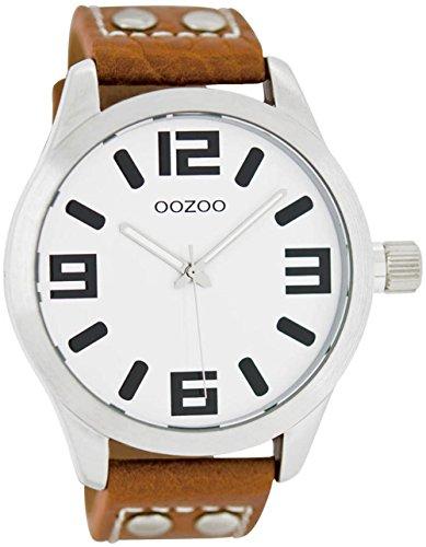 Oozoo Damen-Armbanduhr, Lederarmband, C1051