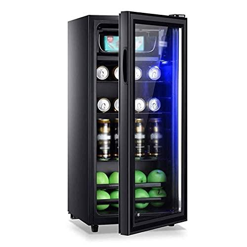 yunyun Vinoteca,vinerafrigorifico para Vinocompresor Frigorifico Mini Refrigerador De Vino Compacto Independiente con Temperatura...