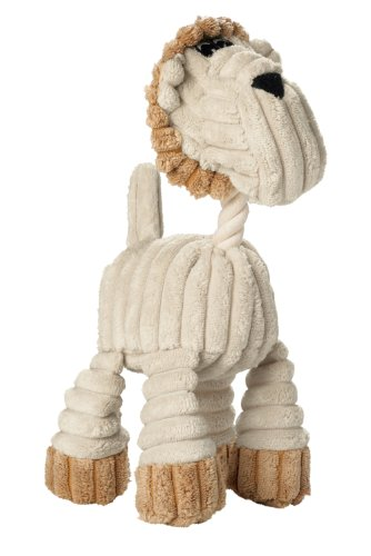 HUNTER HUGGLY LION, Hundespielzeug, Plüsch, Löwe, 25 cm, beige