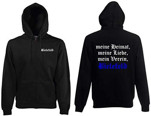 world-of-shirt / Bielefeld Herren Kapuzenjacke Meine Heimat