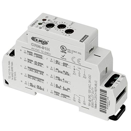 Max 84% OFF Elko CRM-91H-UNI 10 trust Function Programmable Relay