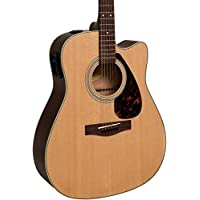 Yamaha FX335C Dreadnought Acoustic-Electric Guitar (Natural)