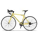 CLOUDH Bicicleta De Carretera De Carbono 700C 21 Velocidades, Bicicleta De Carretera De 27 Pulgadas para Hombres Y Mujeres, Bicicleta De Carreras