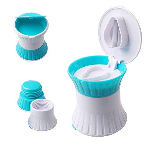 LiDing Pill Crusher, 3 in 1 Multifuntion Pill Cutter/Crusher/Box for Small Pills