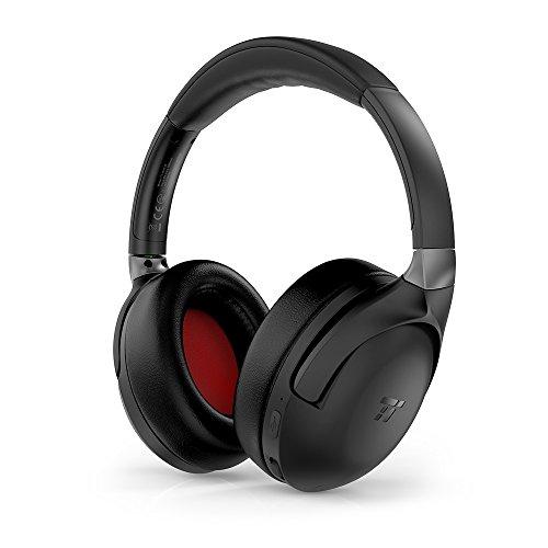 TaoTronics Active Noise Cancelling Kopfhörer aptX Bluetooth Kopfhörer ANC 22 Stunden Wiedergabezeit, aptX Audio in CD-Qualität, Geräuschunterdrückende kabellose Kopfhörer mit CVC 6.0 Mikro