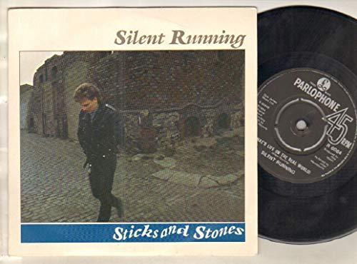 SILENT RUNNING - STICKS AND STONES - 7 inch vinyl / 45