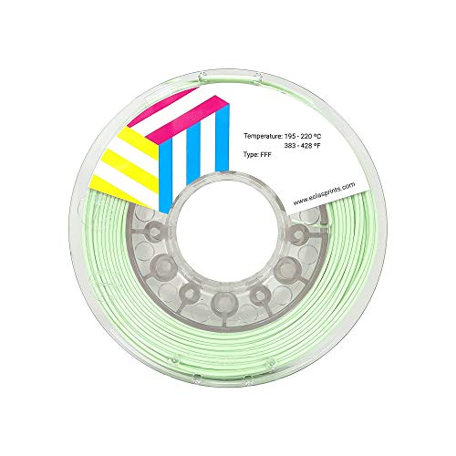 Eolas Prints | PLA Filament 1.75 | 3D Printer | Made in Europe | Food Safe and Toy Making | 1,75 mm | 1 kg | Mint
