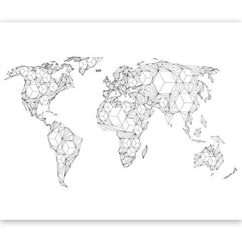 murando Papier peint intissé 350x270 cm Décoration Murale XXL Poster Tableaux Muraux Tapisserie Photo Trompe l'oeil la carte du monde 10040910-65