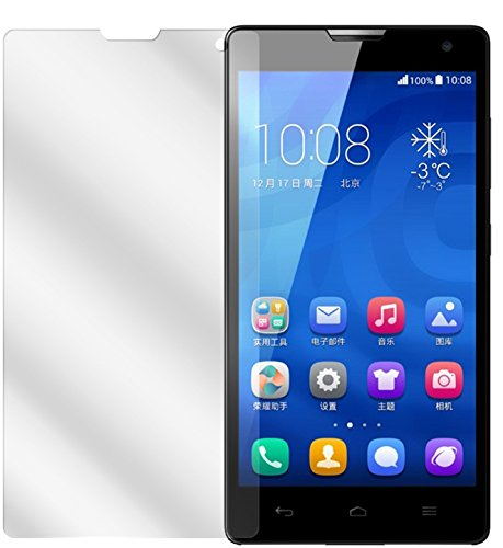dipos I 6X Schutzfolie klar kompatibel mit Huawei Honor 3C Folie Bildschirmschutzfolie