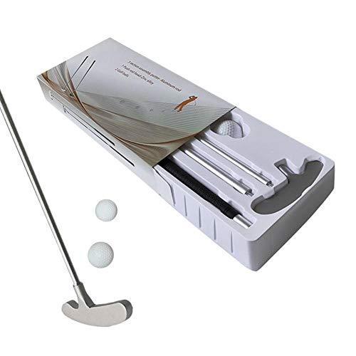 cuffslee Klassisch Golfschläger Set,Aluminium Golf Rod Mit Premium Grip Zwei-Wege-Kopf Atmungsaktiv Für Rechts- Oder Linkshänder