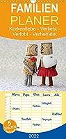 Korkenliebe - Familienplaner hoch (Wandkalender 2022 , 21 cm x 45 cm, hoch): Verliebt - Verlobt - Verheiratet. Die Entstehungsgeschichte einer grossen Liebe. (Monatskalender, 14 Seiten )