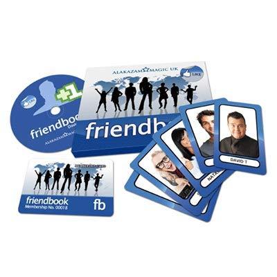murphys FriendBook (DVD and Gimmicks) by David Taylor & Alakazam Magic - Tricks