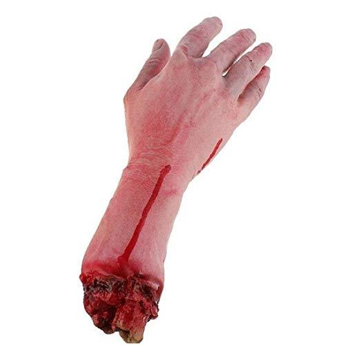 Gefälschte Severed Arm Scary Blutigen Horror Scary Halloween Prop Gefälschte Severed Arm Hand Spukhaus 1pc