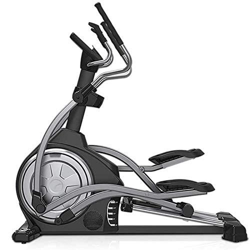 UIZSDIUZ Máquina elíptica, controlado magnético, Ejercicio Interior Equipo de Bicicleta Aleación Control electromagnético de 16 vías de Cuatro vías, para Hombres/Mujeres