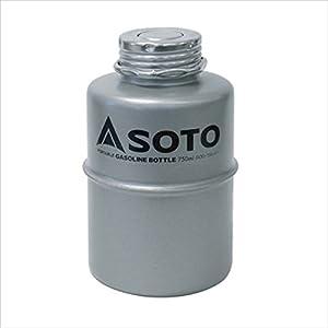 """ソト(SOTO) ポータブルガソリンボトル750ml SOD-750-07"""""""